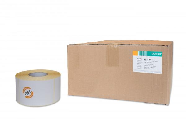 100 x 150 mm Papier-Etiketten, selbstklebend von der Rolle