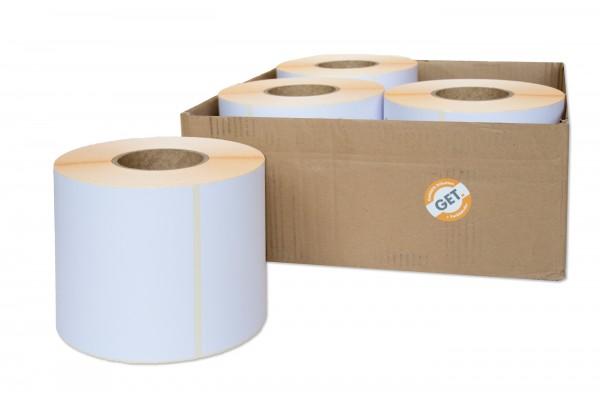 Papier-Etiketten 148 x 210 mm selbstklebend von der Rolle